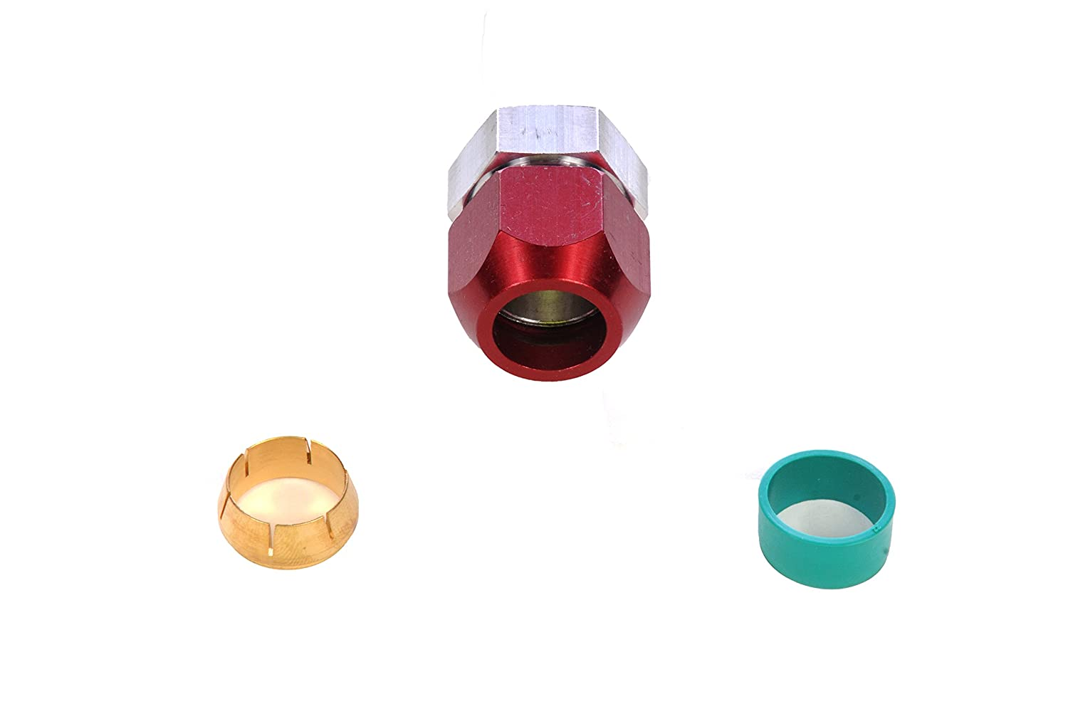 and Ferrule Seal ACDelco 15-34526 Professional 5//8 in O.D Air Conditioning Blockoff Kit with Stop