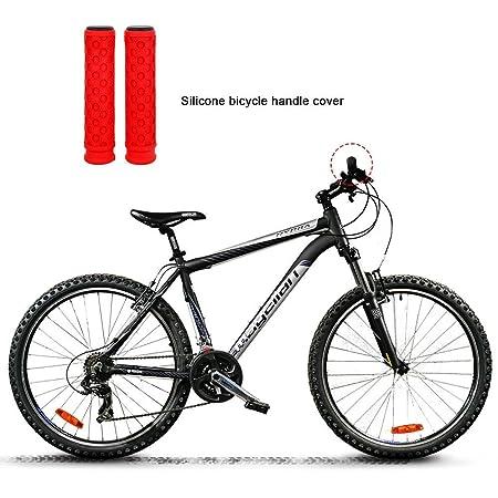Aolvo - Puños para manillar de bicicleta, silicona y gel con ...