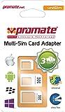 Promate Unisim–ADAPTER SD Card (White)