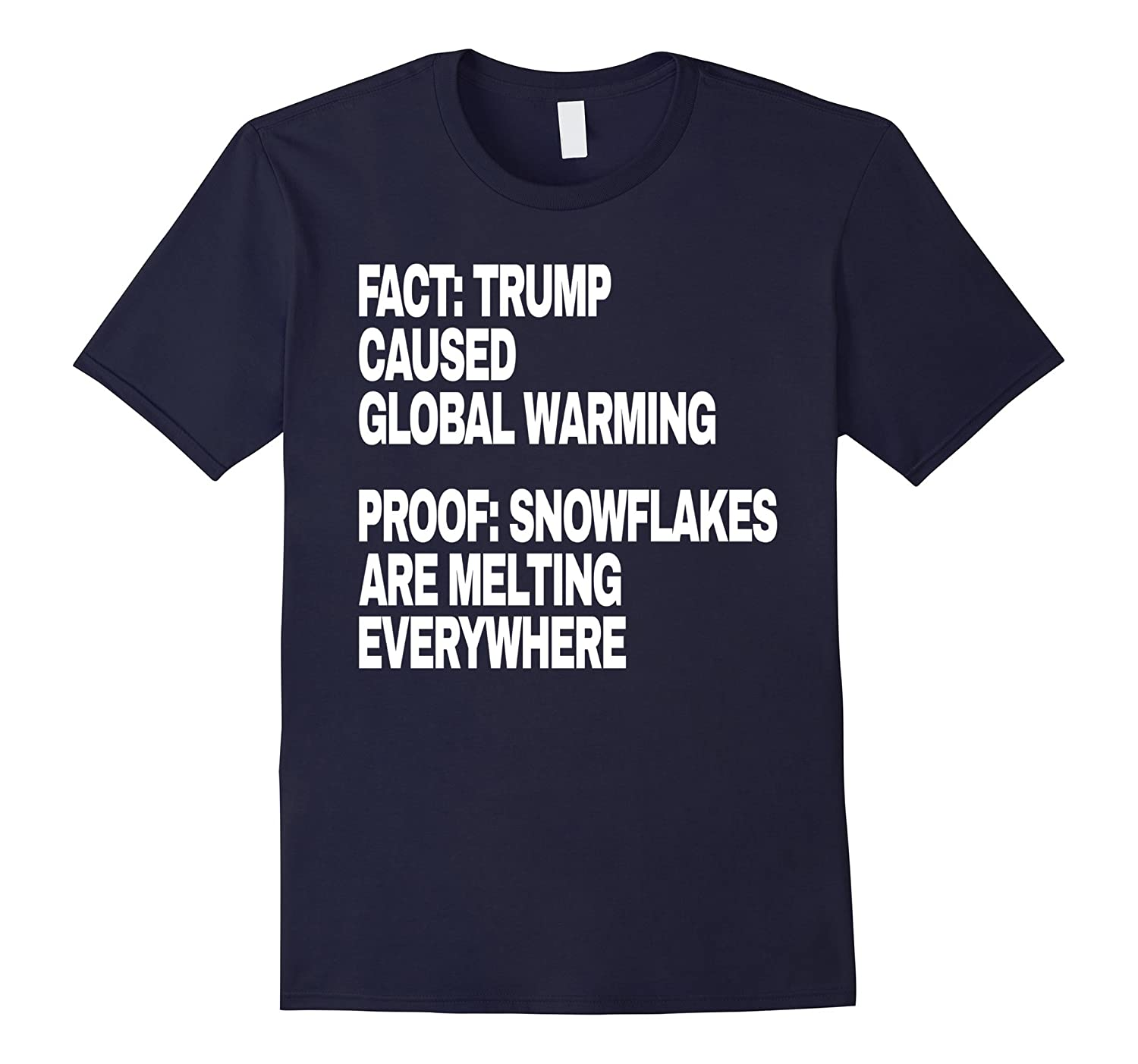 Trump Anti Snowflake Funny Global Warming-Tovacu