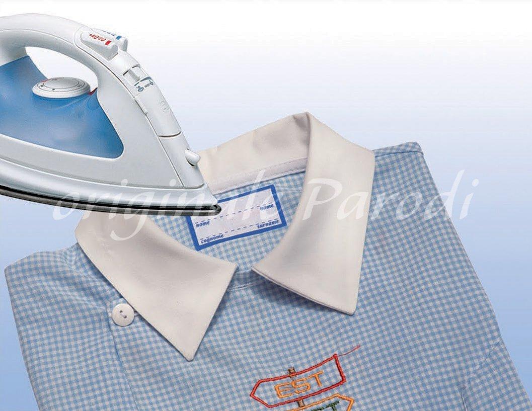 Etiquetas termo-adhesivas de ropa 2 x 10pcs, etiquetas, personalización de ropa, etiquetas termo-adhesivas, se aplican a la plancha, permanente y lavable.