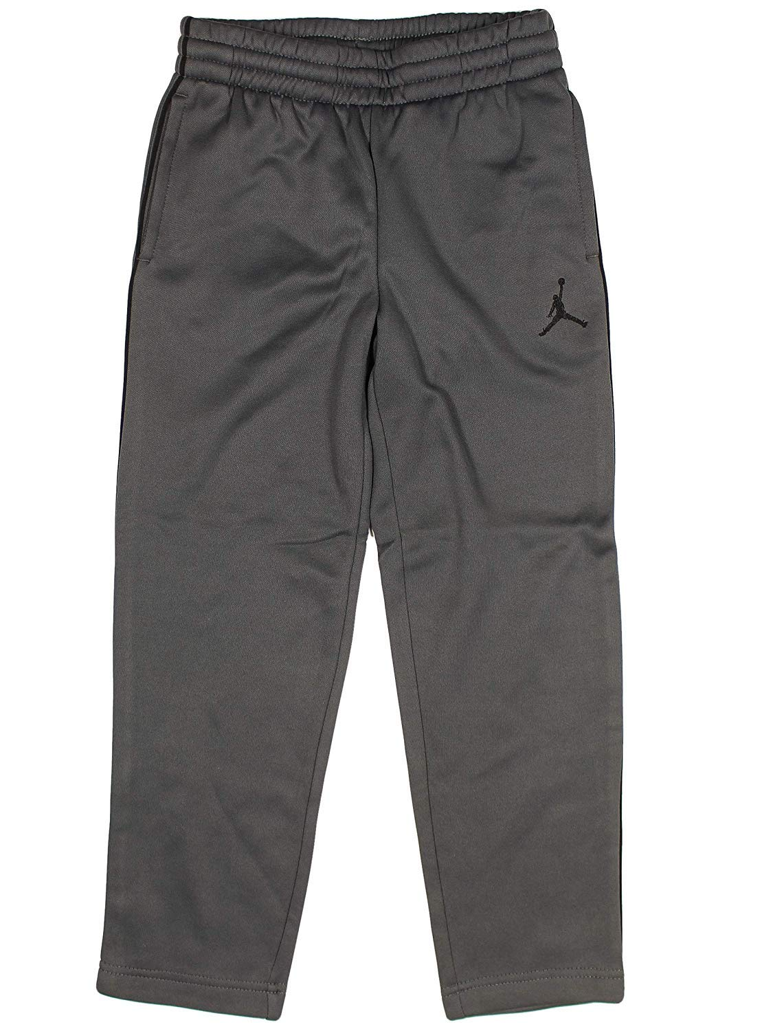 0969f6d8a8e Galleon - NIKE Boys' Youth Air Jordan Track Pants (DK Grey/Black, 5)