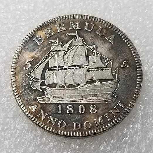 YunBest Moneda antigua británica de 1808, con Jorge III de Escocia ...