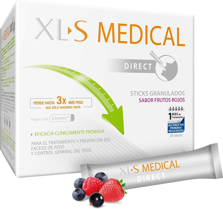 XL-S Medical Captagrasas para Perder Peso - Capta 28% de la Grasa Ingerida1 - Comprimidos para Adelgazar - Pack 2 x 180 Comprimidos, 2 Mes de ...