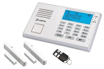 Olympia 9035 - Sistemas de Alarma de Seguridad (Color Blanco ...