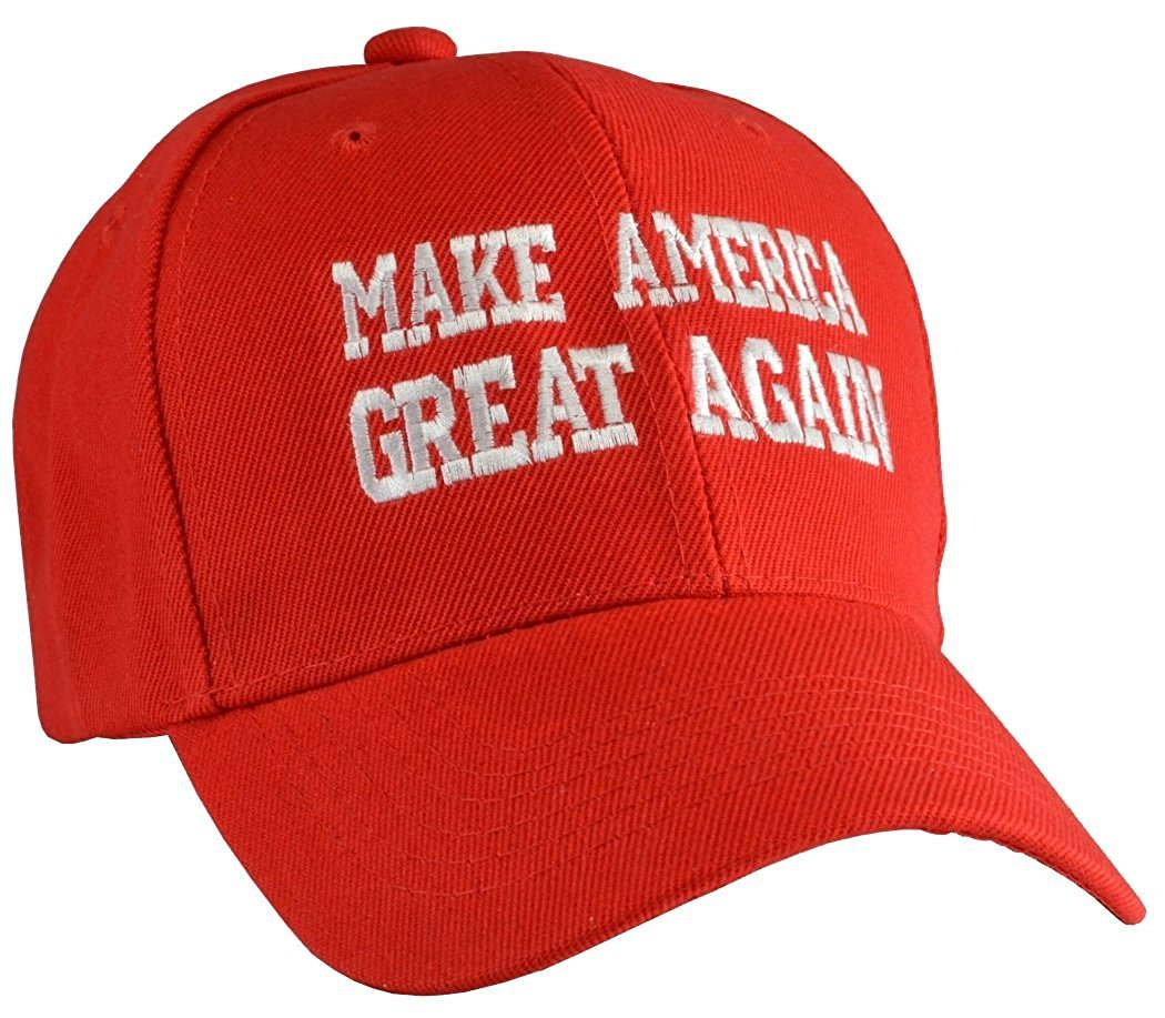 amazon ドナルドトランプ 帽子 キャップ 赤 make america great again