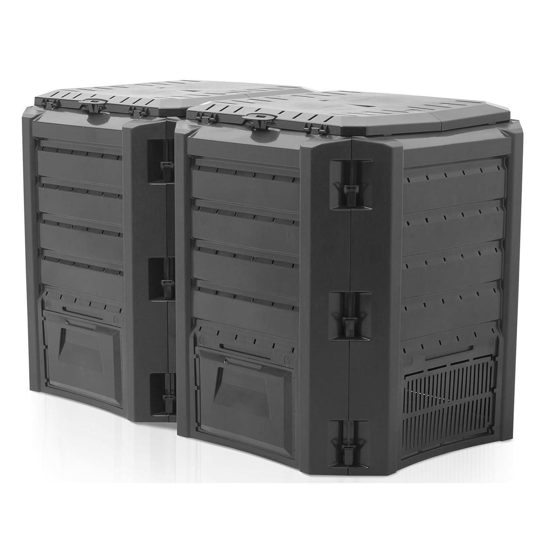 /negro 4/piezas Prosper Plast iklm800/C-s411/135/x 71,9/x 82,6/cm memoria Compogreen Tacho/