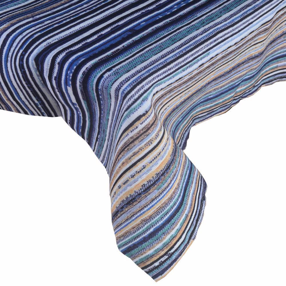 R.LANG Spill Proof Table Runner 14 x 144-inch Kitchen Table Runner Dinner Parties Blue/Green