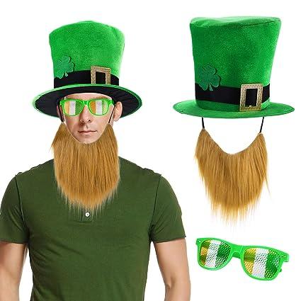 Amazon.com  Konsait St. Patricks Day Parade Mens and Womens Costume ... bd06b296ff