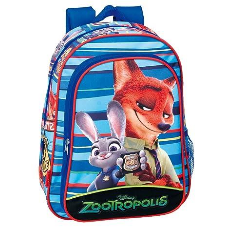 80240dc4fe Disney, zaino per bambini motivo Zootropolis, dimensioni: 37 cm, colore: blu