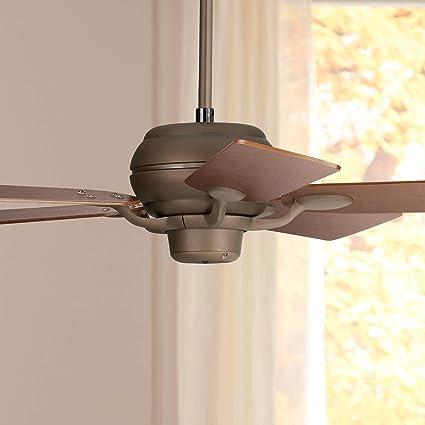 52 Casa Optima Rustic Farmhouse Ceiling Fan Oil Rubbed Bronze Teak Wood For Living Room Kitchen Bedroom Dining Casa Vieja