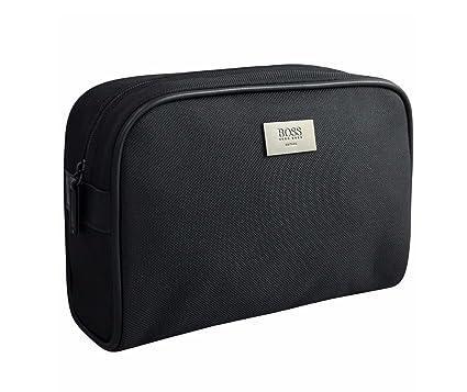 a42ed07d707e Hugo Boss Original Men's Black Toiletry Wash Pouch Shaving Bag ...