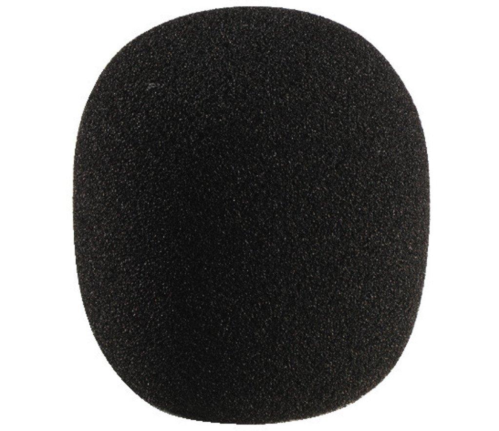 MONACOR WS-60 Mikrofon-Windschutz für Mikrofone schwarz