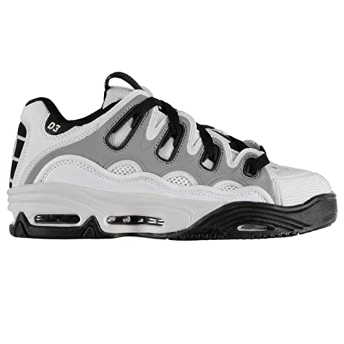 0a699136ef24c9 Osiris D3 2001 Trainers Mens White/Black Skateboarding Footwear:  Amazon.co.uk: Shoes & Bags