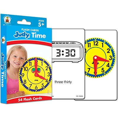 Judy Time Flash Cards, Ages 5-11: Carson-Dellosa Publishing: Office Products