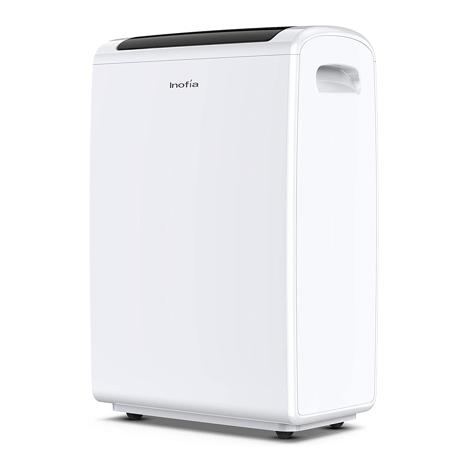 Inofia 70 Pint Dehumidifiers for Home/Basements/Bathroom/Large Room up to 4,000 Sq Ft, Portable Dehumidifier with Drain Hose/Laundry Mode/Caster Wheels/7.4 Pints(3.5 litres) Water Reservoir