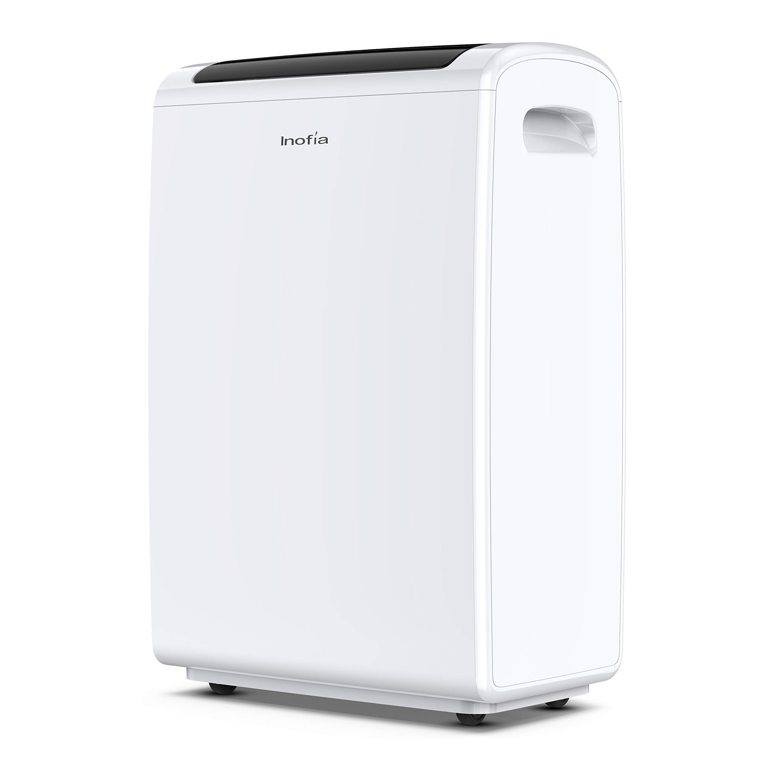 Inofia 70 Pint Dehumidifiers for Home/Basements/Bathroom/Large Room up to 4,000 Sq Ft, Portable dehumidifier with Drain Hose/Laundry Mode/Caster Wheels