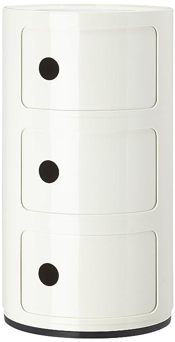 62 opinioni per Kartell 496703 Contenitore componibile Colore: Bianco