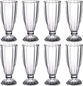 10oz Novelty Coffee Mugs,Glass Mugs Hurricane Glasses,Irish Coffee Mugs Clear Glass Cups Pina Colada Glasses,Heavy Base Cocktail Glass Glass Cup Drinking Glasses Bar Glasses For Juice,Beverages 8Pack