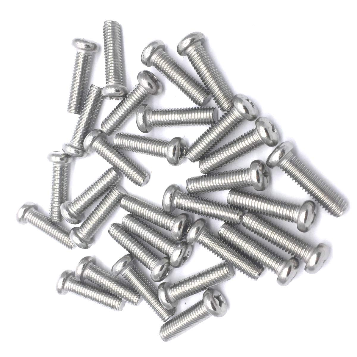 Thread Size M8-1.25 FastenerParts Precision Shoulder Screw 18-8 Stainless Steel