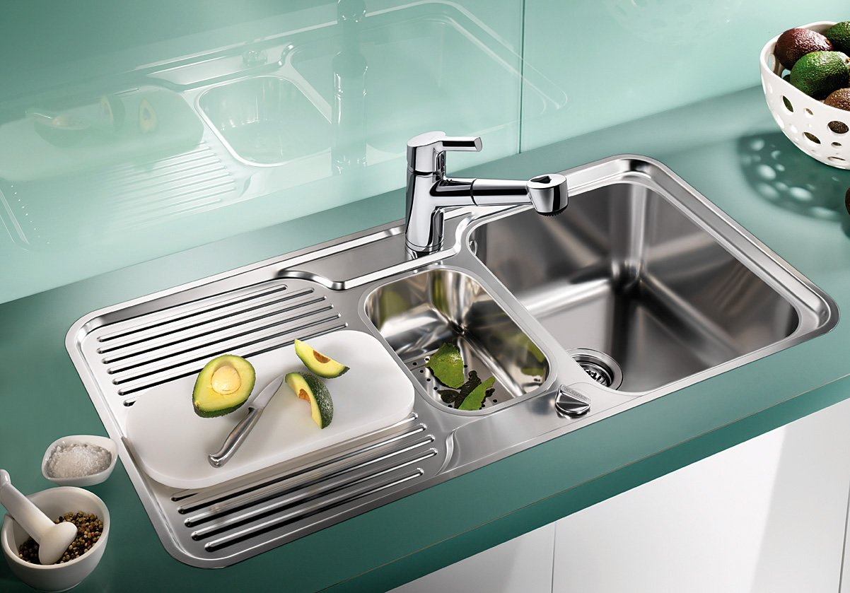 Blanco Classic 6 S-IF Kitchen Sink Stainless Steel Satin Gloss ...