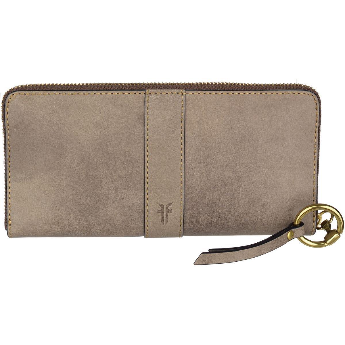 Ilana Harness Zip Wallet Antique Veg Tan Wallet, GREY, One Size
