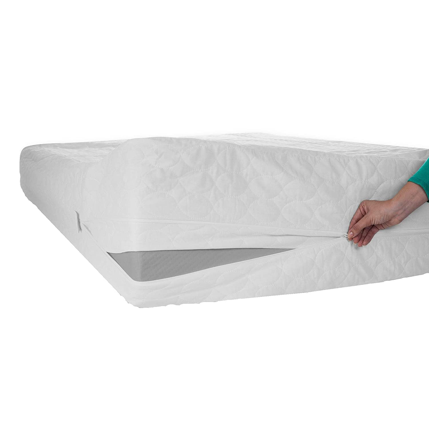 Zen Master Bed Bug Dust Mite Mattress Protector, Twin X-Large 64-00001-TXL-AW
