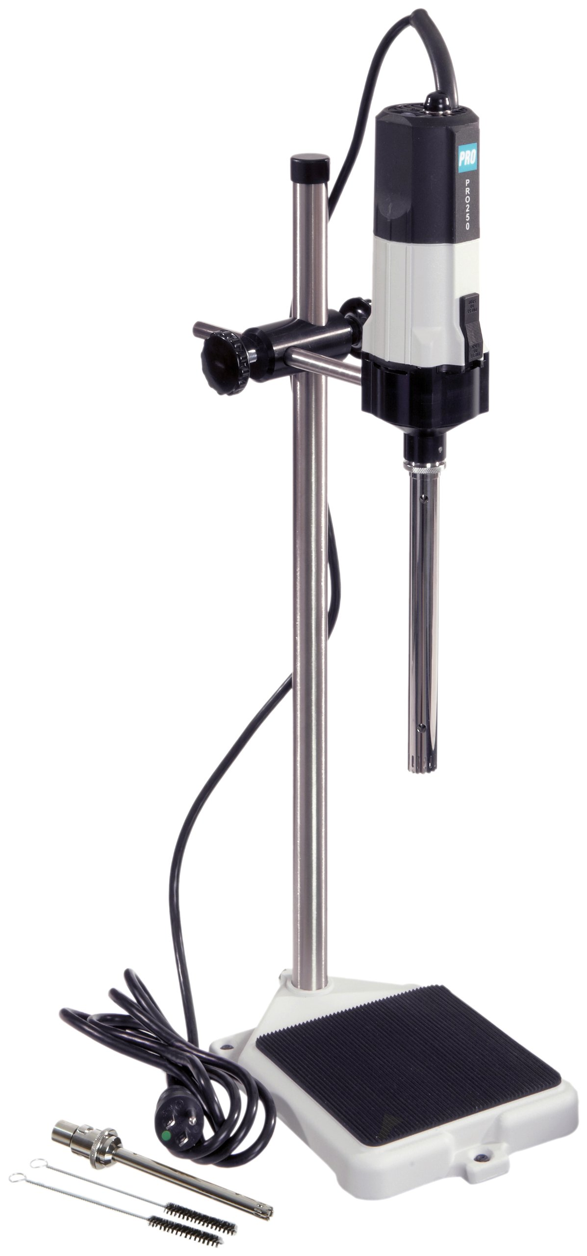 PRO Scientific PRO-PK-01250MXP Premium Max-Homogenizing Package, (2) Saw-tooth Generator Probes, Stand Assembly, 10,000-30,000 rpm, 115V by PRO Scientific