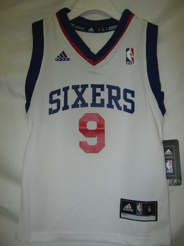 e32e1f4e0 ... Amazon.com Andre Iguodala Philadelphia 76ers White NBA KIDS YOUTH  Revolution 30 Replica Jersey ( Andre Iguodala 9 ...