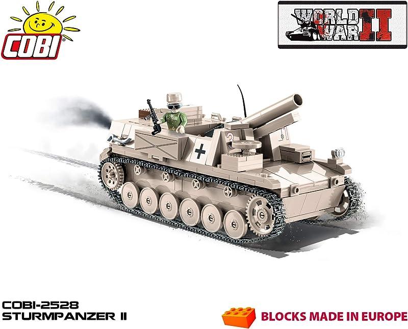 Cobi Sturmpanzer II 德国二号突击坦克积木玩具 2528 $43.95 海淘转运到手¥357