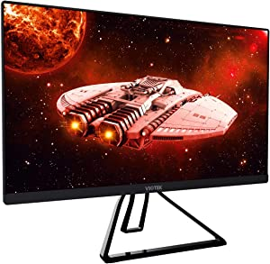 VIOTEK GFV22CB Ultra-Compact 22-Inch 144Hz Gaming Monitor | 1080P Full-HD 5ms | G-Sync-Compatible FreeSync FPS/RTS | 2x HDMI 3.5mm DP | Zero-Tolerance Dead Pixel Policy (VESA),22