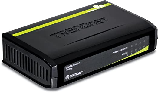 3 opinioni per TRENDnet TEG-S5g, Switch gigabit GREENnet 5 porte