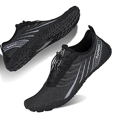 Water Shoes for Men and Women Barefoot Quick-Dry Aqua Sock Outdoor Athletic Sport Shoes for Kayaking, Boating, Hiking, Surfing, Walking | Water Shoes