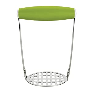 OXO Tot Baby Food Masher, Green (Discontinued by Manufacturer)