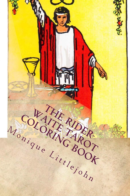 The Rider-Waite Tarot Coloring Book: Amazon.es: Monique ...