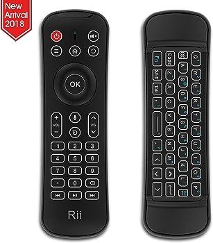 Rii Backlit Fly Mouse 2.4G MX6 Wireless Mini Keyboard