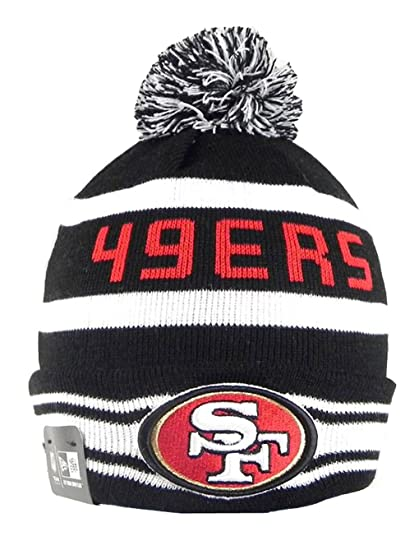 ee733376f33 Image Unavailable. Image not available for. Color  New Era the Jake 3 San  Francisco 49ers Beanie ...