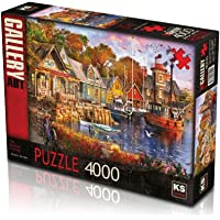 KS The Harbour Evening 4000 Parça Puzzle