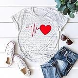 Women's Cute 3D Graphic Printed T-Shirt,Summer
