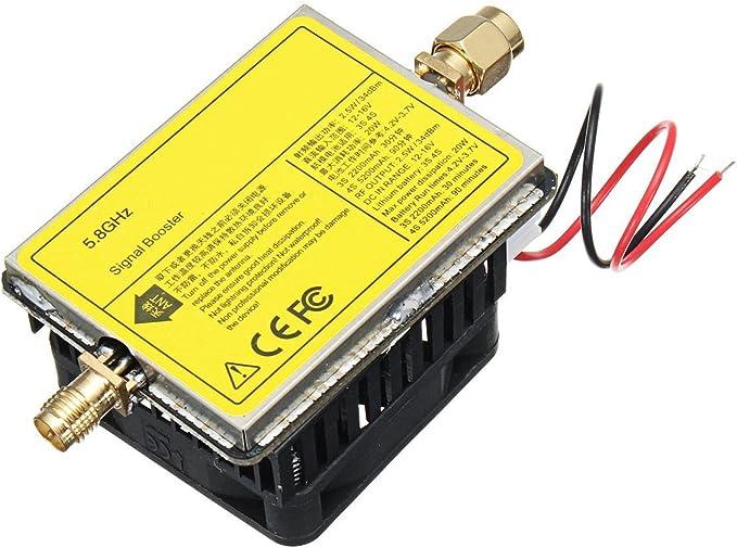 YT Module 5.8GHz 3W/4.5W Wireless AV Transmisor Señal Amplificador para TS832 Piezas: Amazon.es: Electrónica