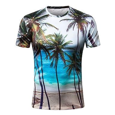 Camiseta para Hombre, Camisetas de impresión de Tallas Grandes de Hombres Chico niños Camiseta de