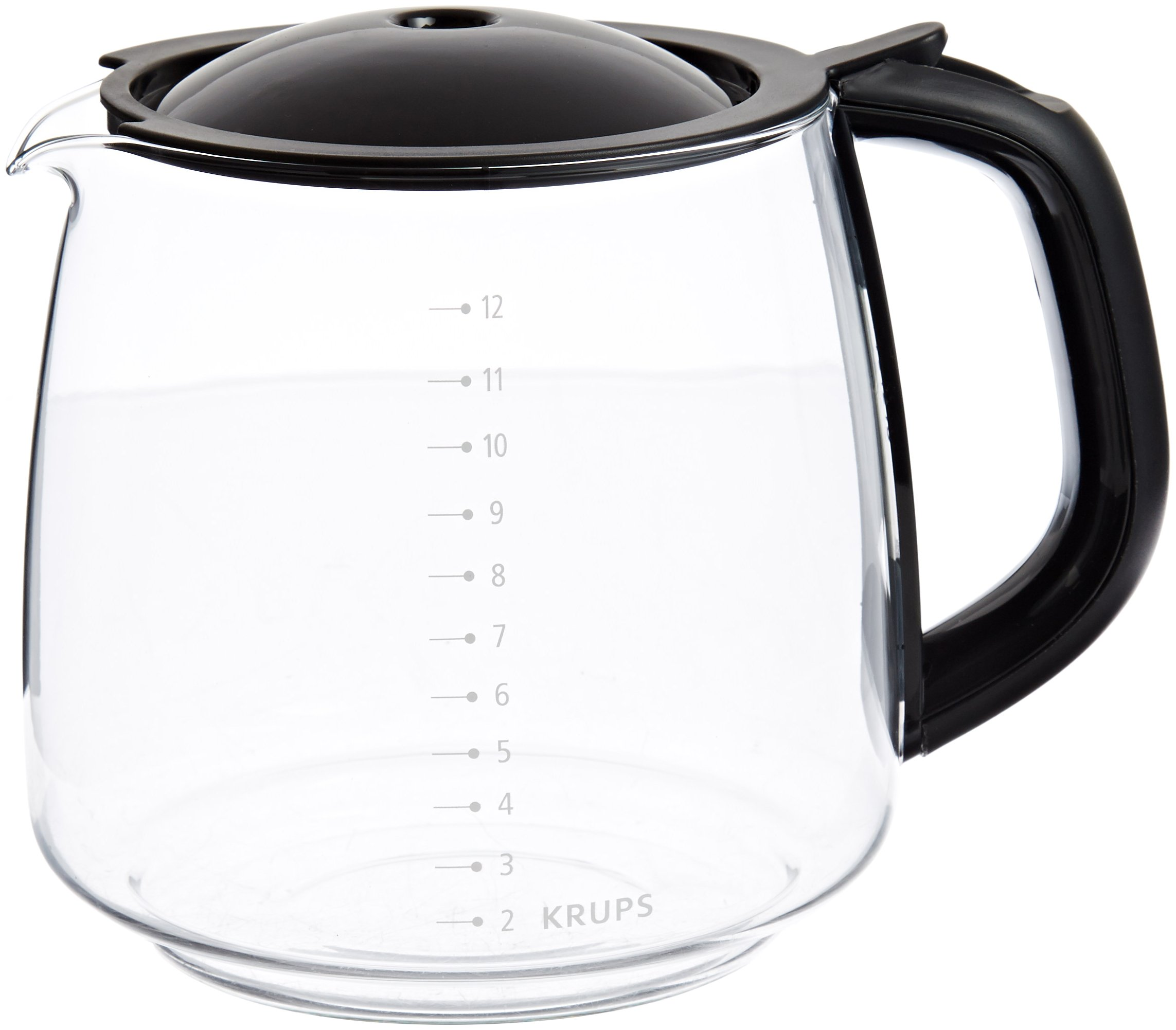 KRUPS F15B0G Coffee Carafe for Any KRUPS FME Series, 12-Cup, Black by KRUPS