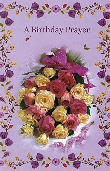 Religious Birthday Blessings Greeting Cards In Bulk 12 Pack