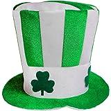 Beetest® Green St Patricks Giornata Irlandese Divertimento Festa Costume Cappello Foto Stand Prop Decorazione Cappello Cap