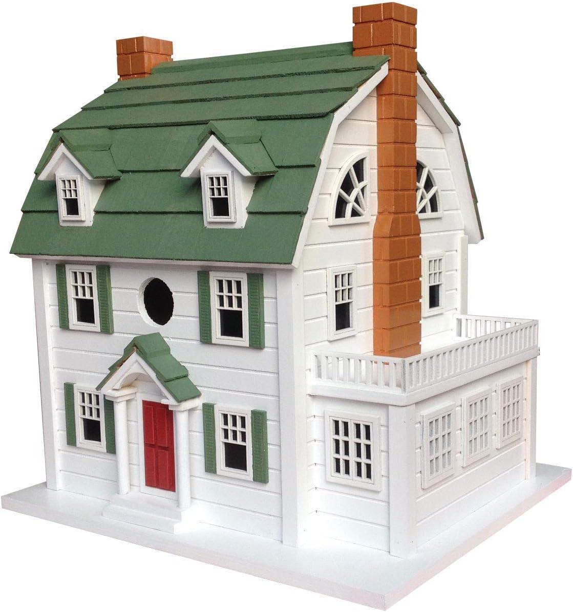 Home Bazaar HB-9509 Dutch Colonial Barn House Decorative Hanging Nest Birdhouse