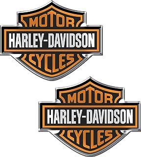 3 in Harley-Davidson Trademark B/&S Chain Heavy-Duty Metal Magnet 8008529