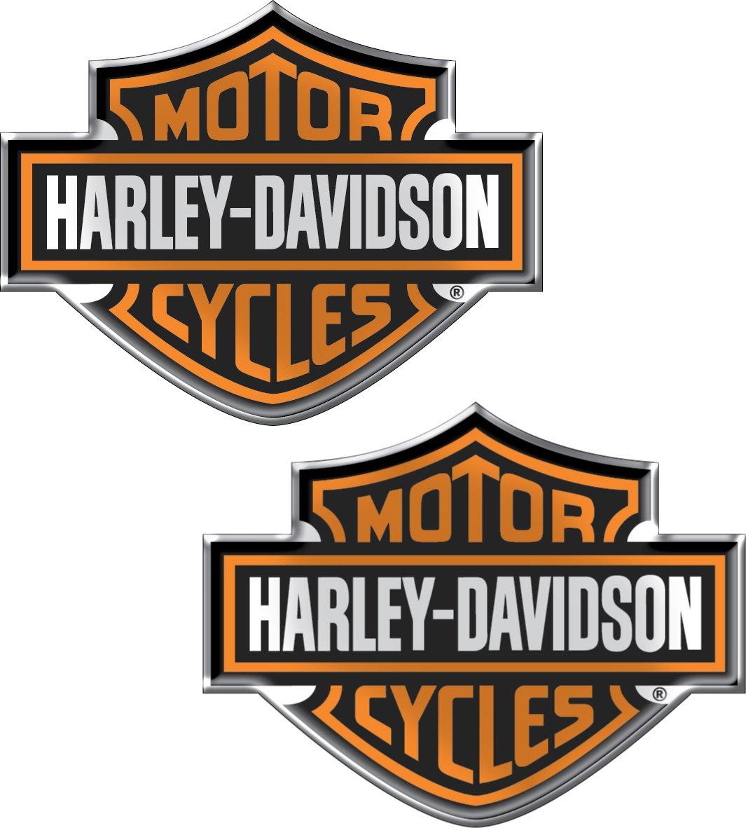 Chroma 5507 Harley-Davidson Domed Emblem Decal