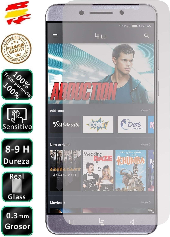 Movilrey Protector para Leeco Le Pro 3 X720 (4G) Cristal Templado de Pantalla Vidrio 9H para movil: Amazon.es: Electrónica