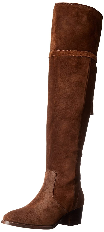 FRYE Women's Clara Tassel OTK Slouch Boot B018YMG5PO 7.5 B(M) US|Wood