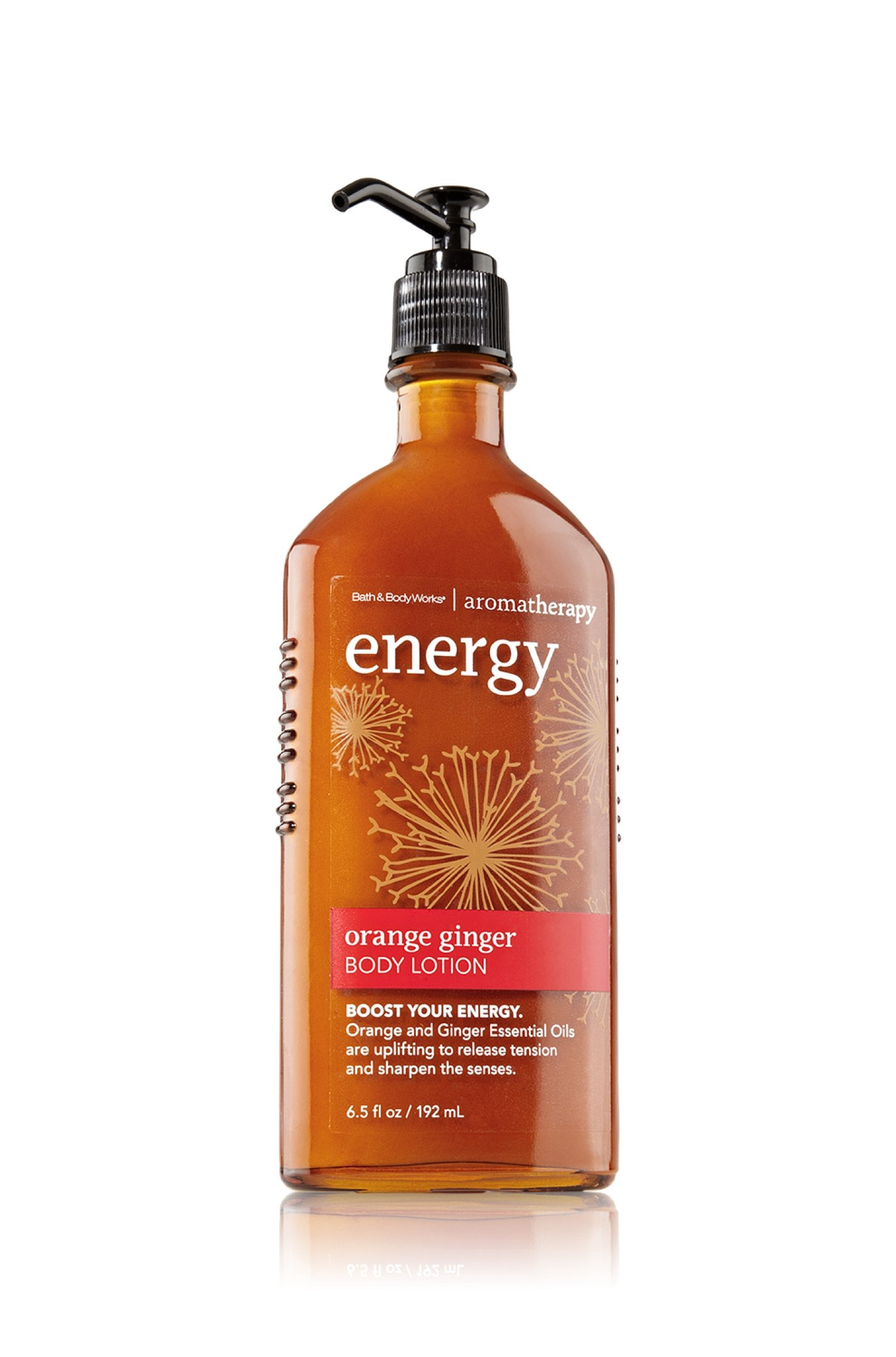 Bath and Body Works Aromatherapy Body Lotion Energy - Orange Ginger - 6.5 fl oz / 192 mL by Bath & Body Works